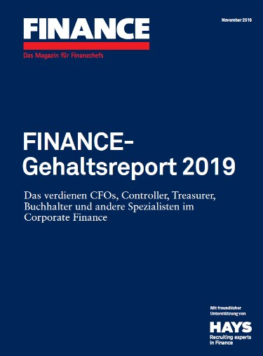 Hays FINANCE-Gehaltsreport 2019