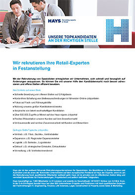 Retail fact sheet