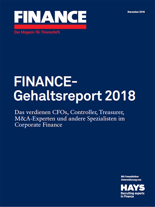 Finance-Gehaltsreport 2018
