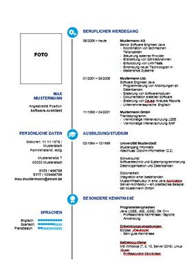 download lebenslauf vorlage checkliste