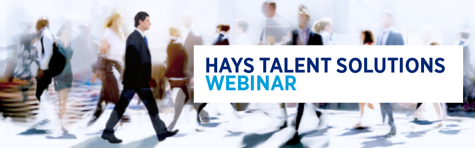 Webinar Recruiting Process Outsourcing leicht gemacht - Hays Talent Solutions