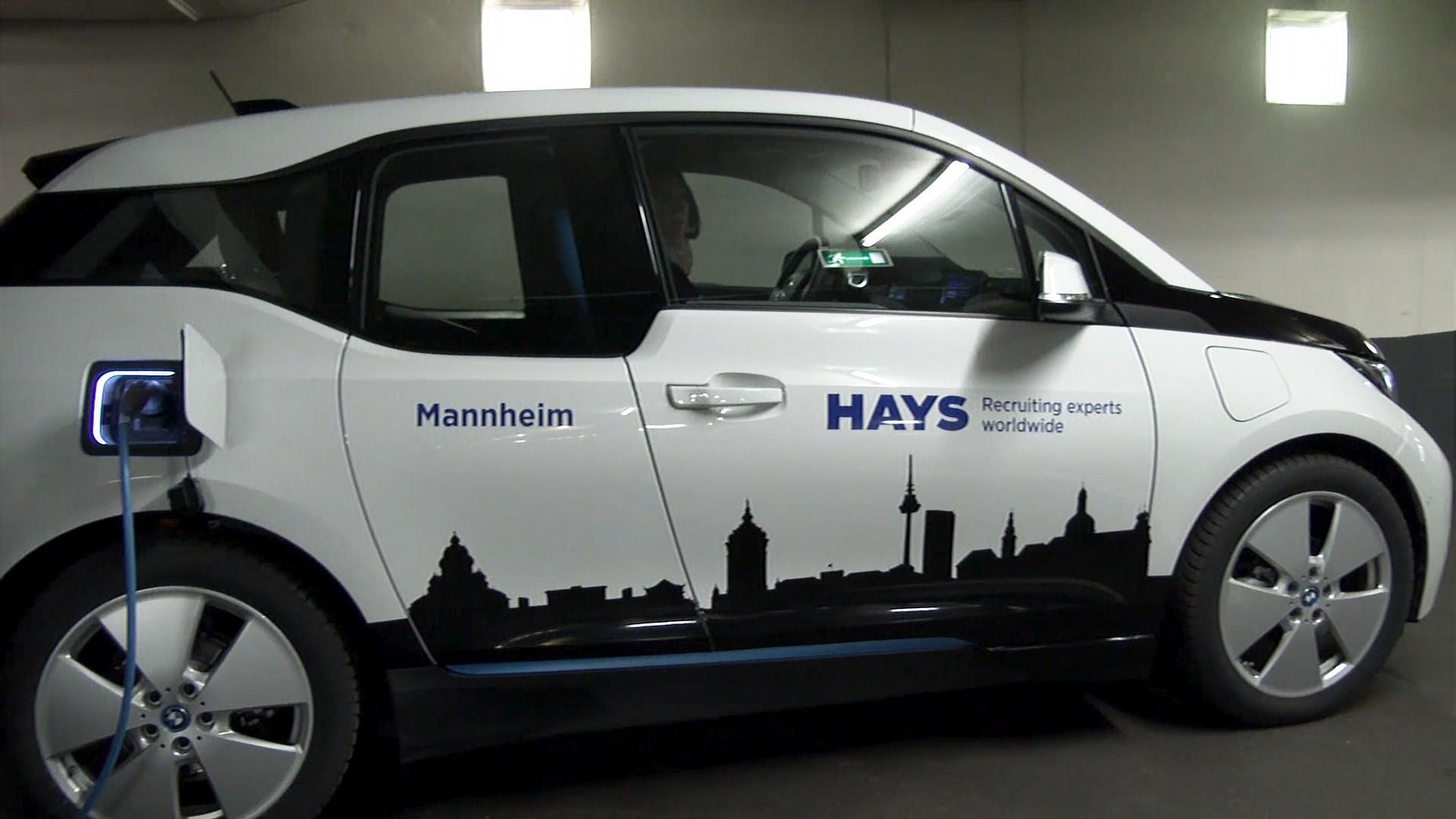 Auch beim Thema Mobilität achtet Hays auf umweltfreundliche Alternativen